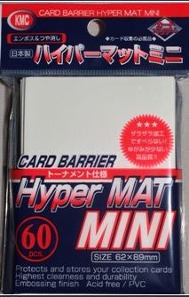 Sleeves: KMC - Hyper Matte - Small, White (x60)