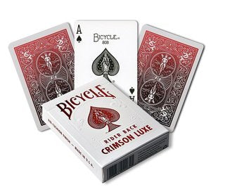 Playing Cards: Bicycle - Metalluxe Red Crimson