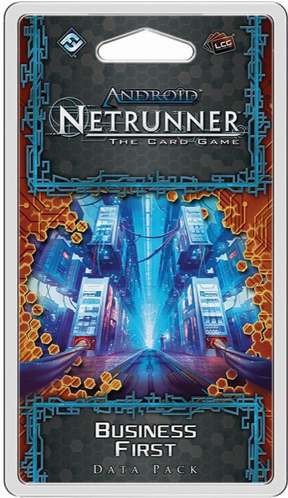 Netrunner [LCG] - Business First (إضافة لعبة)