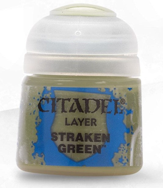 Citadel: Layer Paints, Straken Green