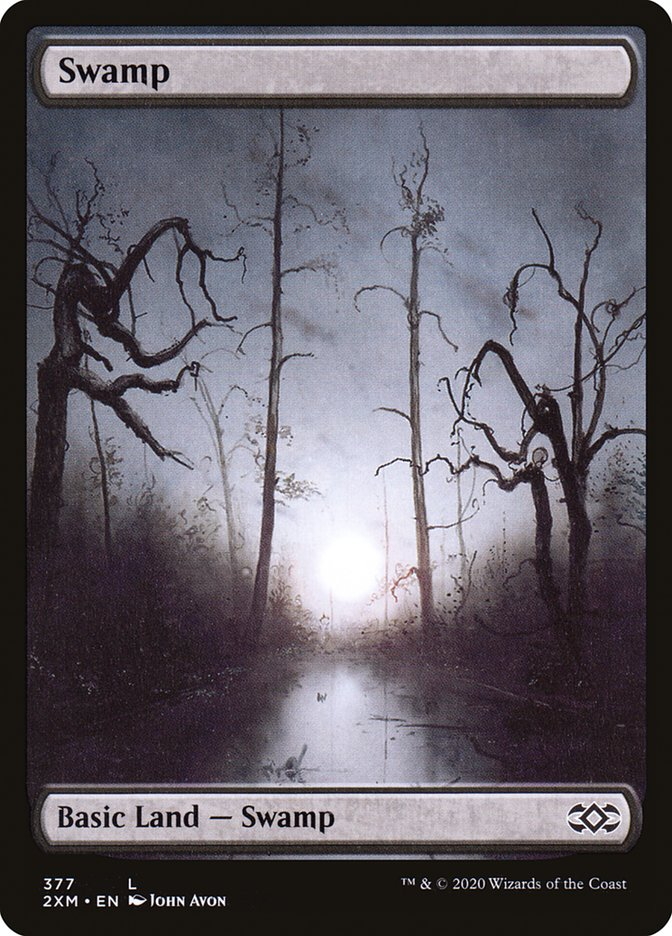 Swamp (377) [Double Masters]