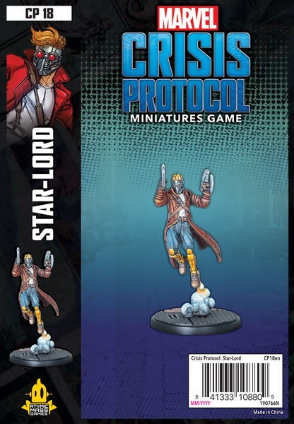 Marvel: Crisis Protocol - Star Lord