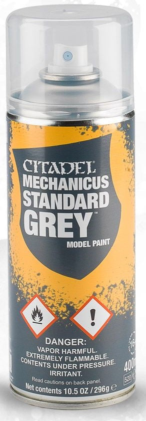 Citadel: Spray Primers, Mechanicus Standard Grey