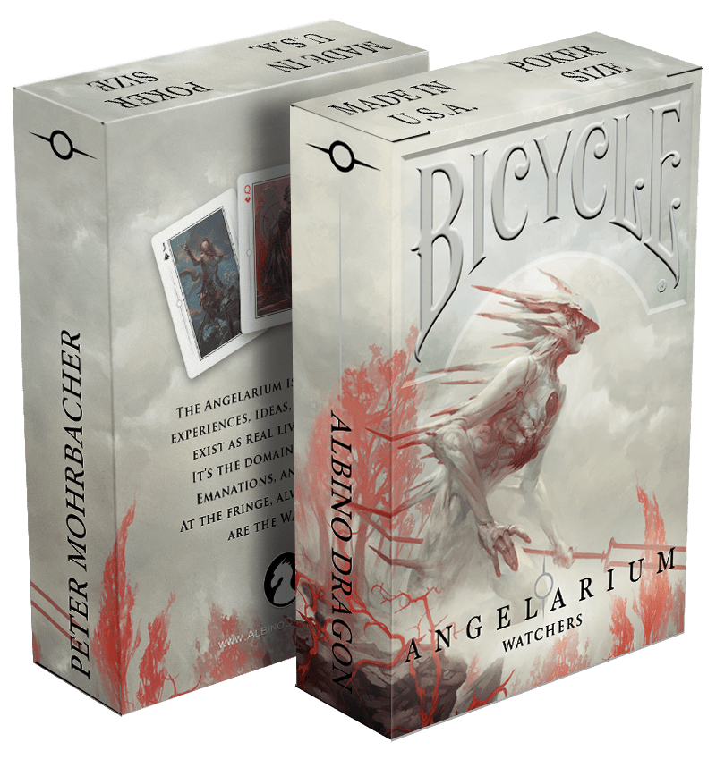 Playing Cards: Angelarium - Watchers