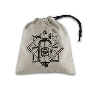 Dice Bag QW: Dwarven Beige/Black