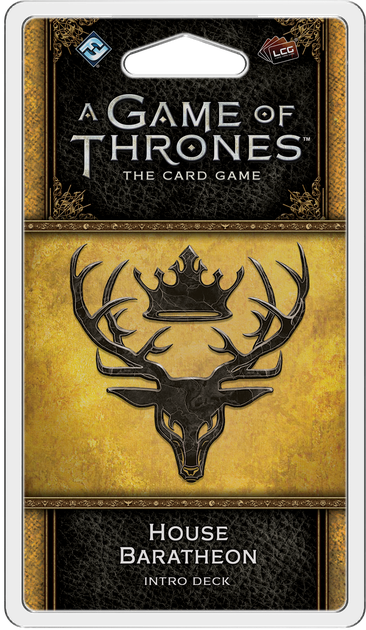 GOT: LCG (2nd Ed) - Pack 39: House Baratheon Deck