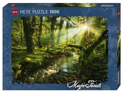 Puzzle HY: Magic Forests - Spirit Garden (1000 pcs)