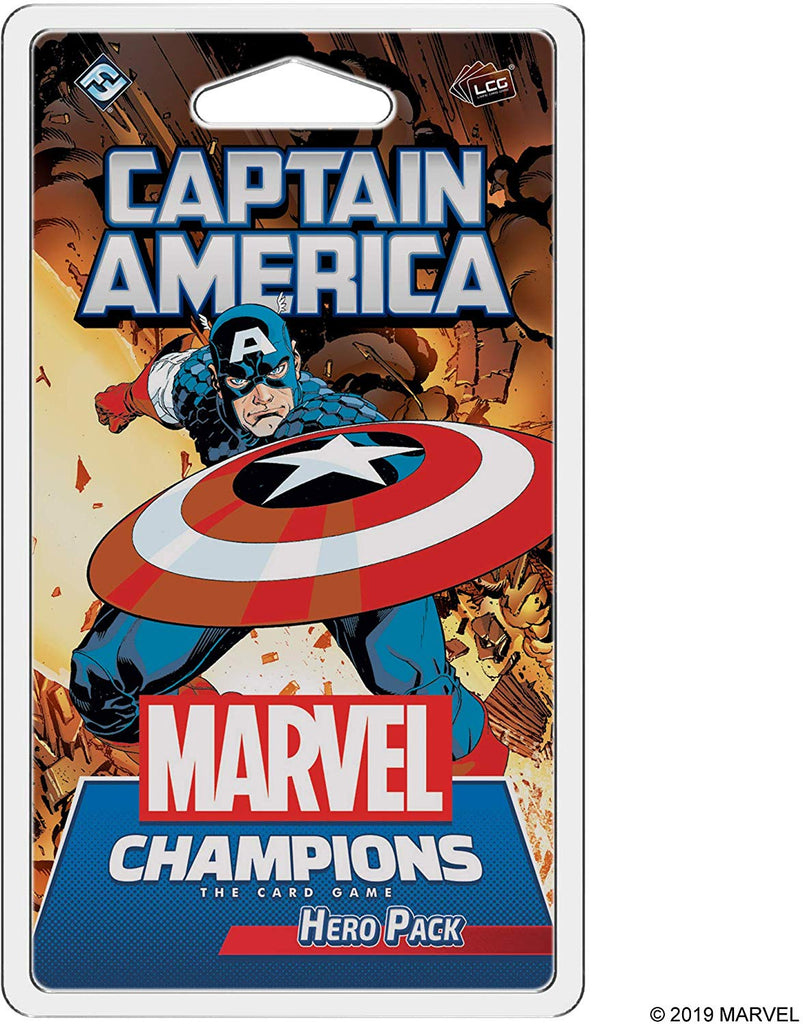 Marvel LCG: Hero Pack 01 - Captain America