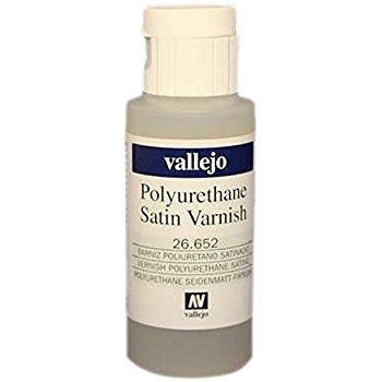 Vallejo Paints: Varnish - Polyurethane Satin (200 ml)