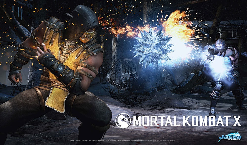 Playmat: MK Scorpion vs. Sub-Zero
