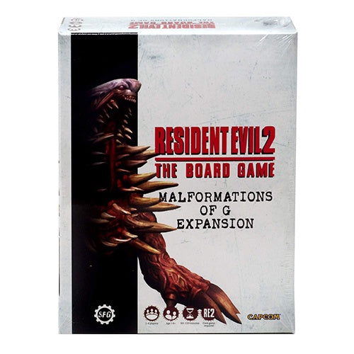 Resident Evil 2: The Board Game - Malformations of G B-Files