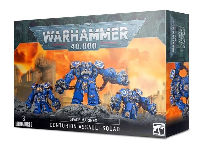 WH 40K: Space Marines - Centurion Assault Squad