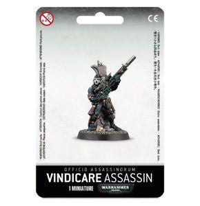 Warhammer 40K: Officio Assassinorum Vindicare Assassin
