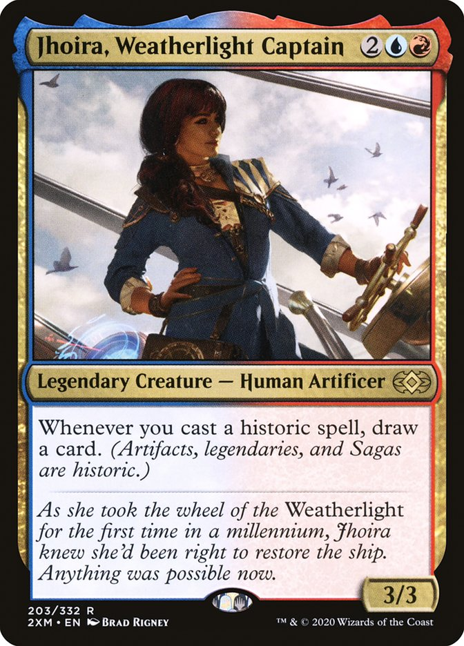 Jhoira, Weatherlight Captain [Double Masters]