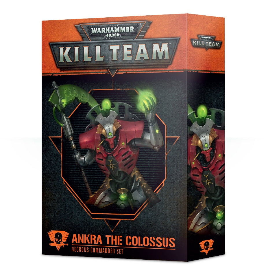 WH 40K: Kill Team - Commander Ankra The Colossus