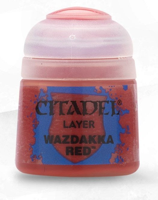 Citadel: Layer Paints, Wazdakka Red