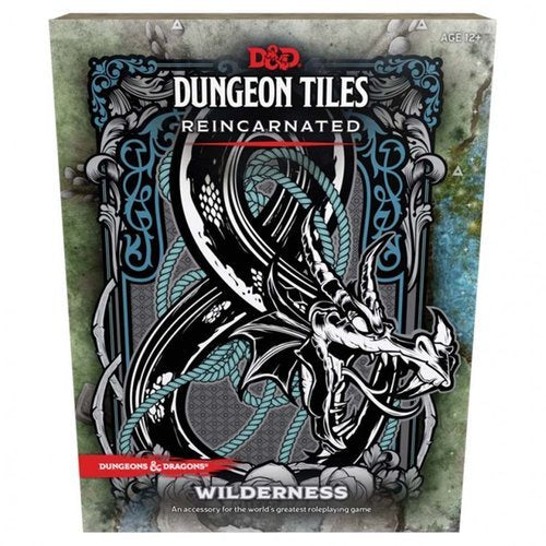 D&D RPG: Dungeon Tiles - Wilderness (Reincarnated)