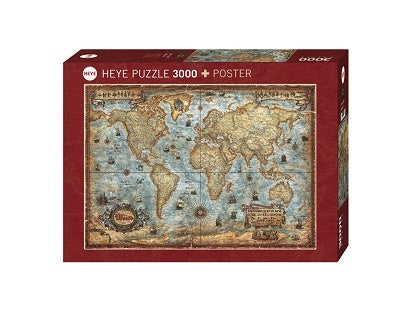 Puzzle HY: Rajko Zigic - The World (2000 pcs)