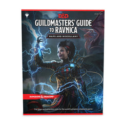D&D RPG: GM Guide to Ravnica Maps and Miscellany