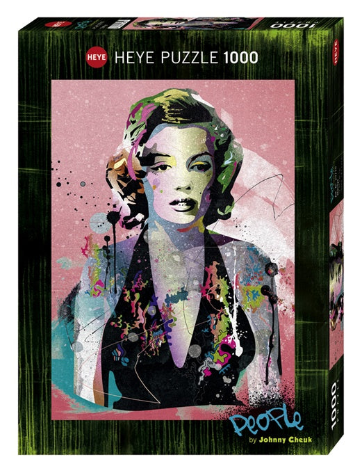 Puzzle HY: People - Marilyn (1000 pcs)