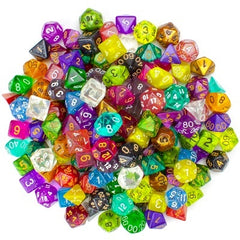 Dice: Blackfire - 8mm D6 - Singles