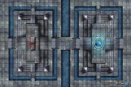 Game Mat D&D RPG: Sanctuary of Fate