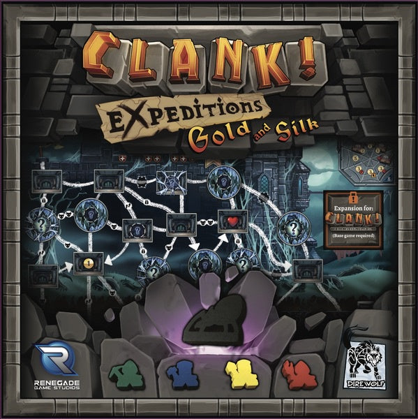 Clank! - Expeditions: Gold and Silk