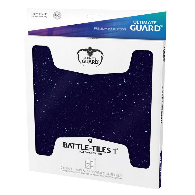 Battlemat: Ultimate Guard - Battle Tiles, 1' Dark Space 30x30cm (x9)