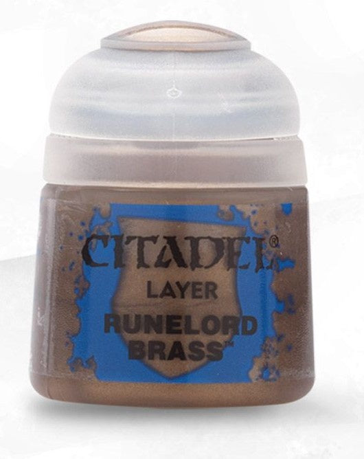 Citadel: Layer Paints, Runelord Brass