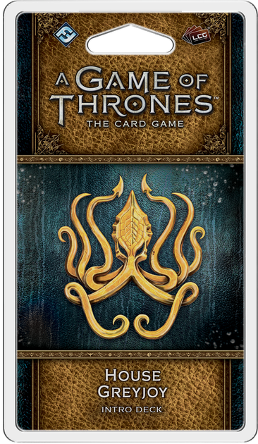 GOT: LCG (2nd Ed) - Pack 38: House Greyjoy Deck