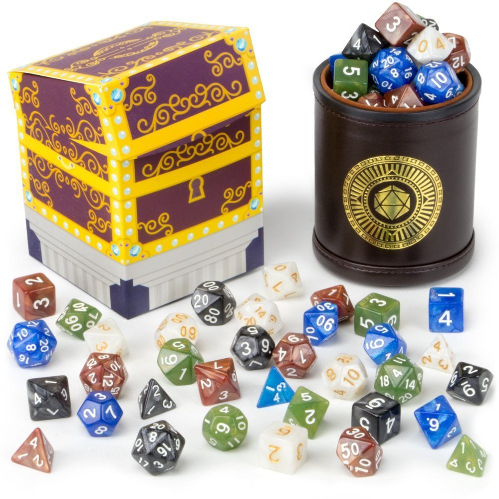 Dice: Wiz Dice - Cup of Plenty - Poly Set [x35] (حجر النرد)