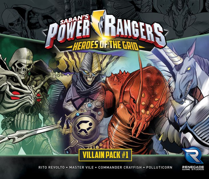 Power Rangers: Heroes of the Grid - Villains Pack 1