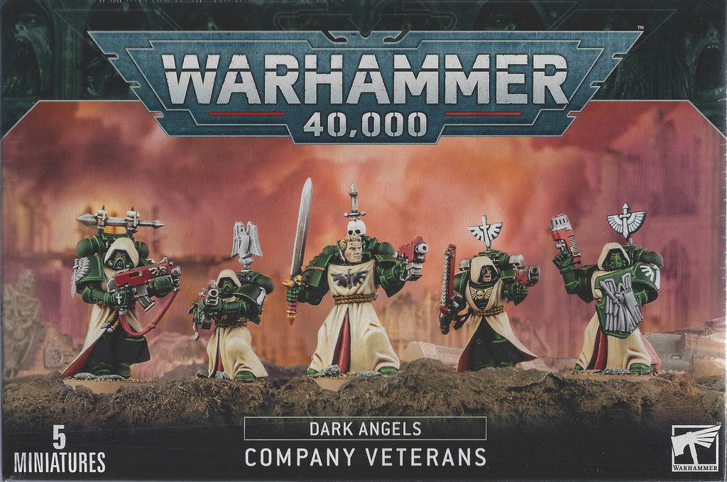 WH 40K: Dark Angels - Company Veterans