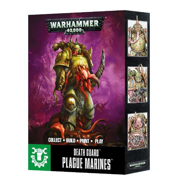 Warhammer 40k: Death Guard Plague Marines (Easy to Build)
