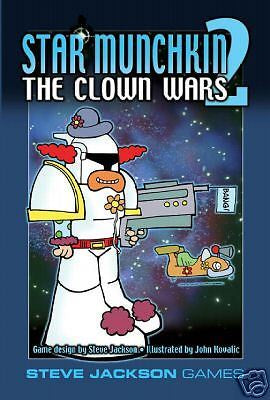 Munchkin: Star 2 - Clown Wars (Revised Ed)