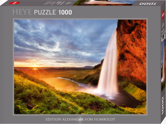 Jigsaw Puzzle: HEYE - Seljalandsfoss Waterfall (1000 pcs)