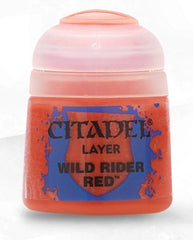 Citadel: Layer Paints, Wild Rider Red