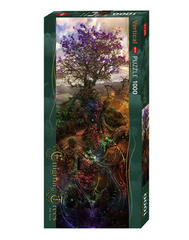 Jigsaw Puzzle: HEYE - Enigma Trees Magnesium (1000 Pieces)