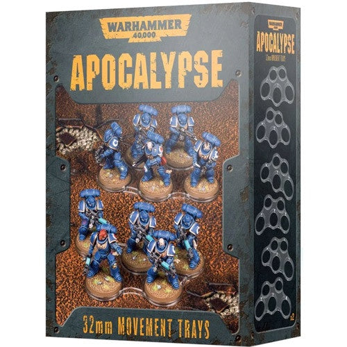 WH 40K: Apocalypse Movement Trays - 32MM