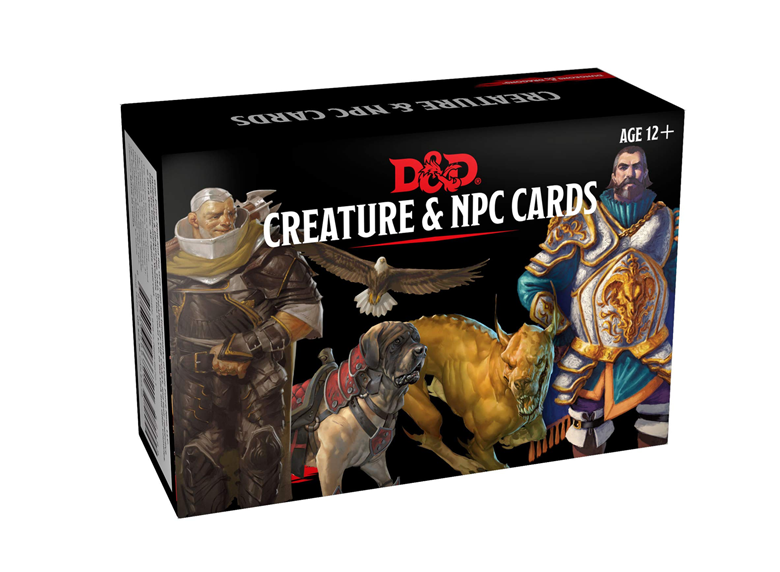D&D RPG: NPCs & Creatures - Monster Cards