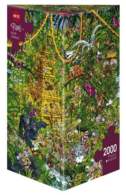 Jigsaw Puzzle: HEYE - Deep Jungle (2000 Pieces)