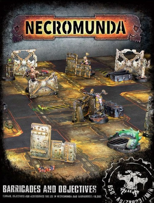 WH Necromunda - Barricades and Objectives