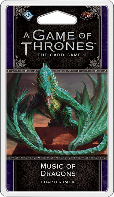 GOT: LCG (2nd Ed) - Pack 33: Music of Dragons
