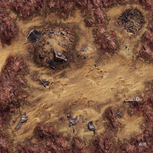 Star Wars - Legion: Desert Junkyard Gamemat