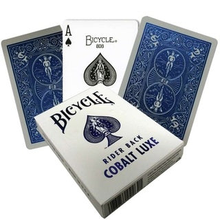 Playing Cards: Bicycle - Metalluxe Blue Cobalt