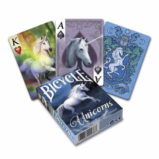 Playing Cards: Bicycle - Anne Stokes - Unicorns