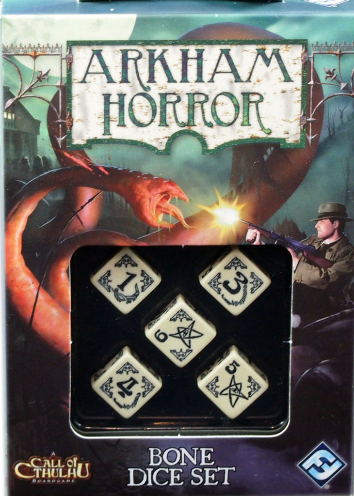 Arkham Horror - Dice - Bone