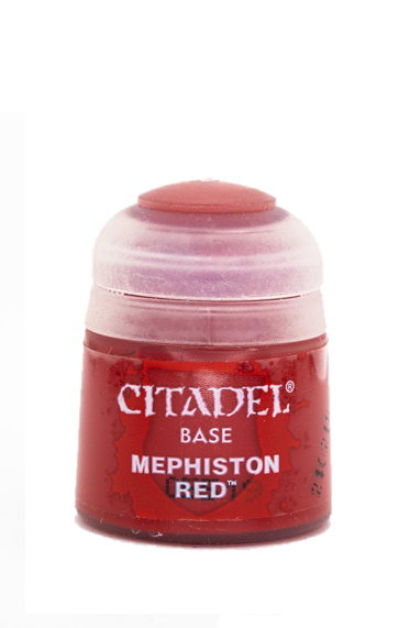Citadel: Base Paints, Mephiston Red