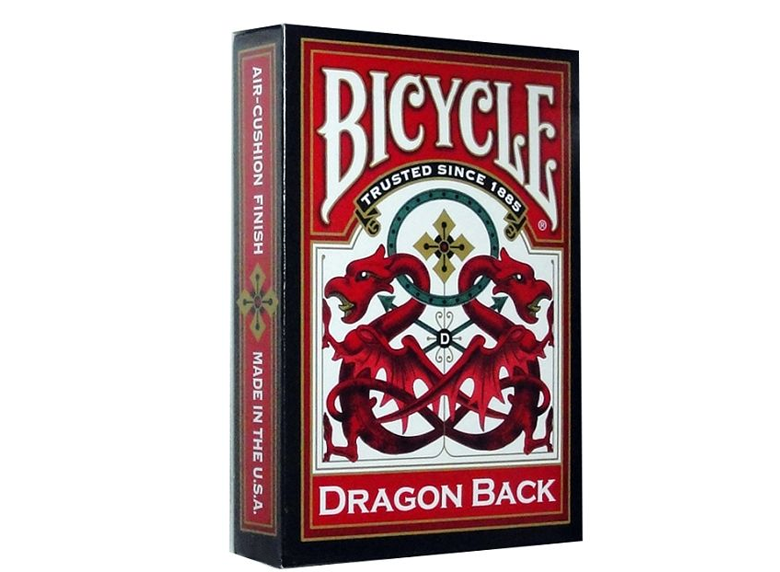 Playing Cards: Bicycle - Dragon Back, Red