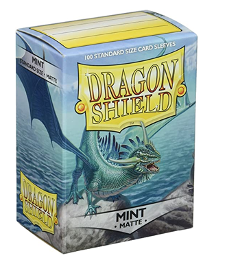 Sleeves: Dragon Shield - Standard, Matte Mint (x100)